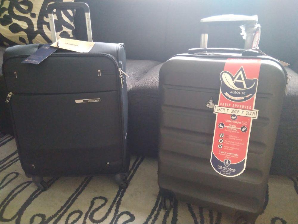 Handgepäck Koffer 55x40x20 im Vergleich